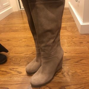 Nine West wedge boots!